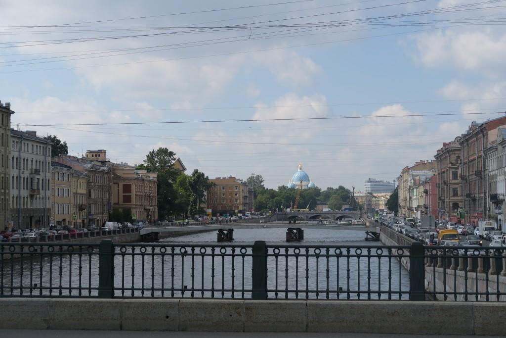 von der Brücke vor unserem Hotel