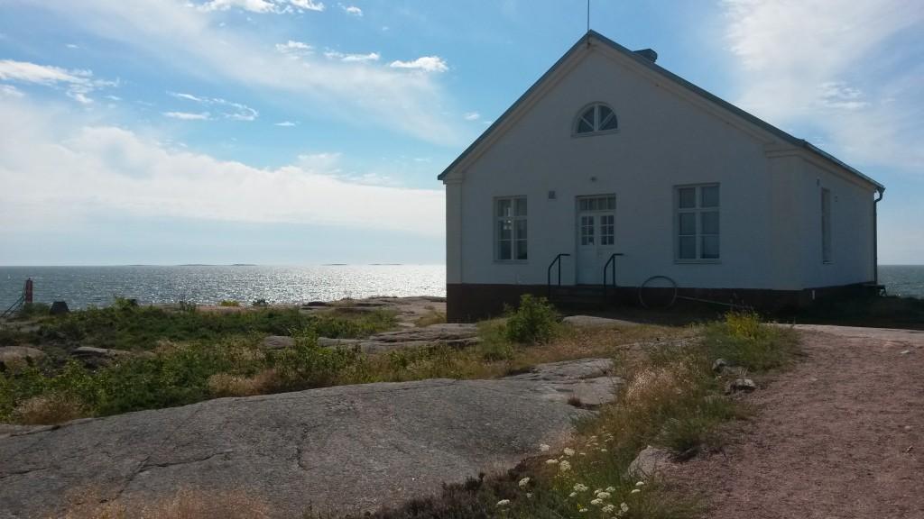 frühere Sendestation auf Rödhamn
