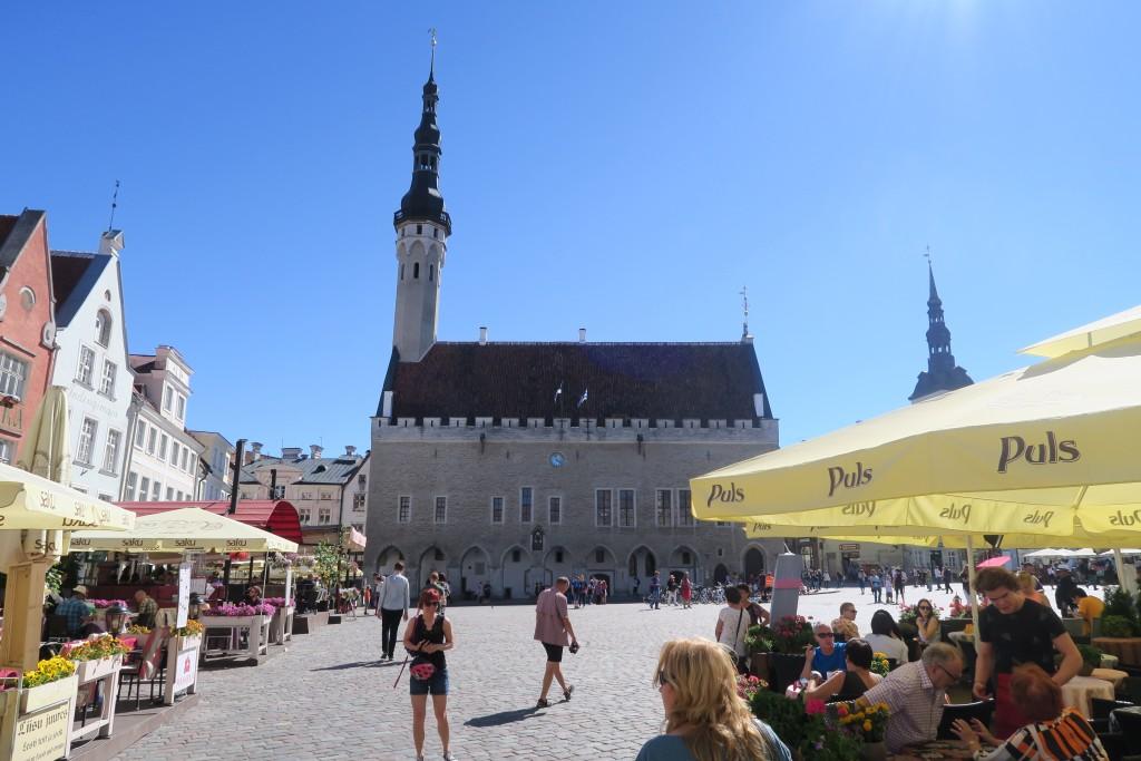 keine Kirche sondern Rathaus von Tallinn