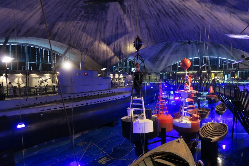 neues Marinemuseum in Tallinn in historischer Spannbetonhalle