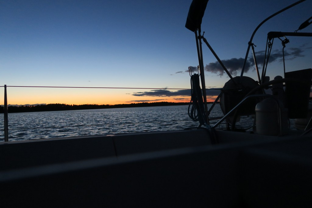 Sommernacht an Porkkala