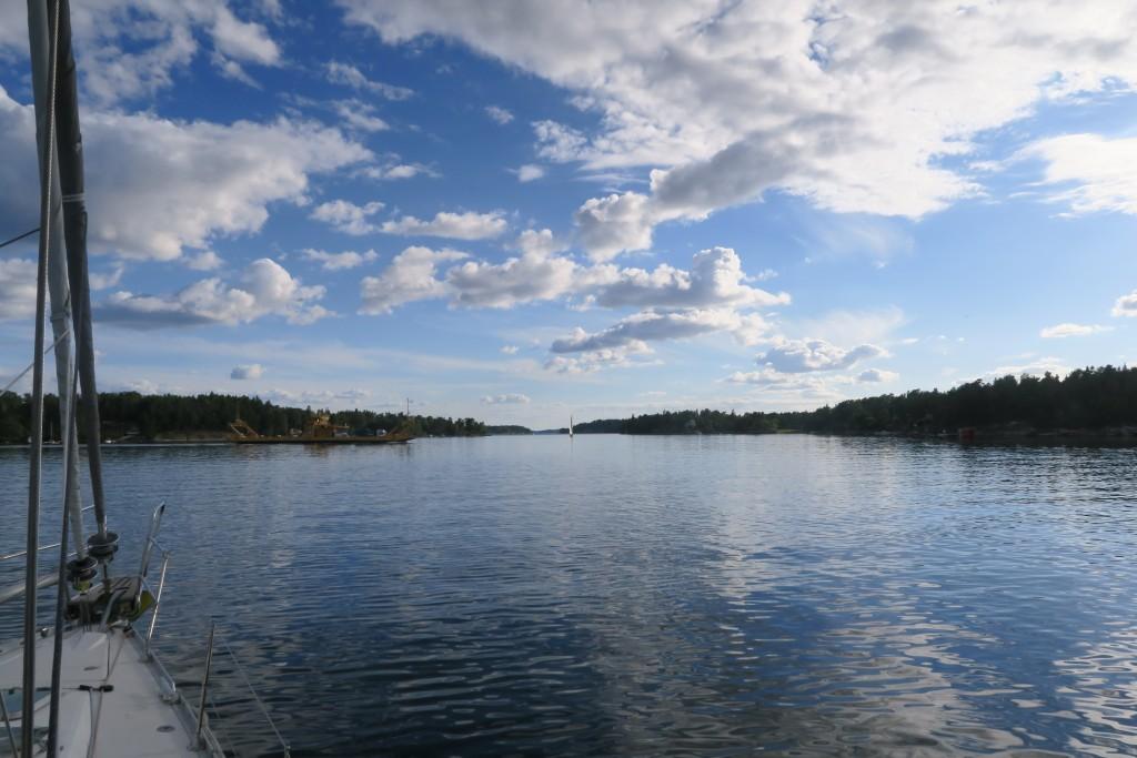 Stemmarsund zwischen Yxlan und Blidö