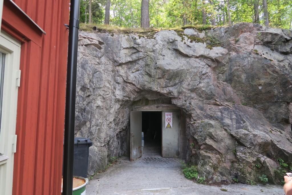 Lagerraum auf Fjäderholm