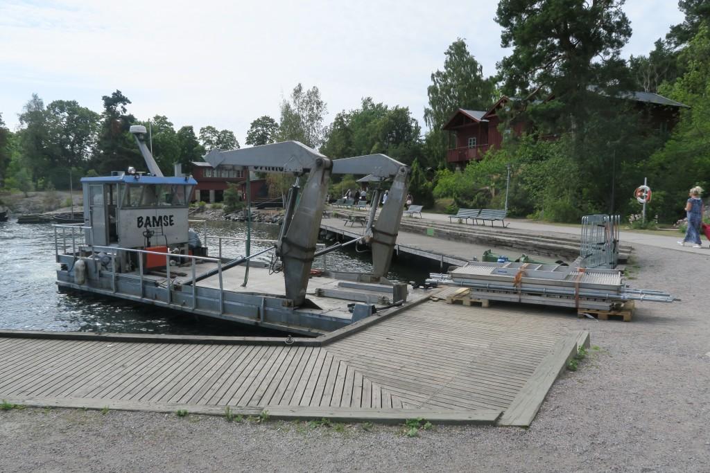 Schären-Lieferwagen