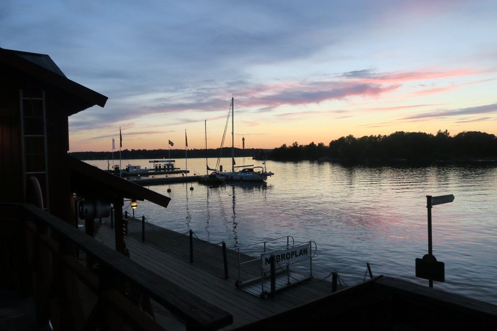 Abendruhe auf Fjäderholm